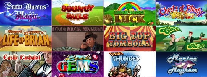 Side Games and Slots at Betfair Bingo