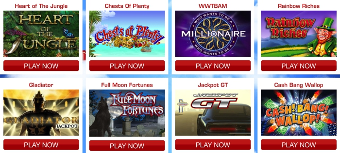 Side Games and Slots at Deal Or No Deal Bingo