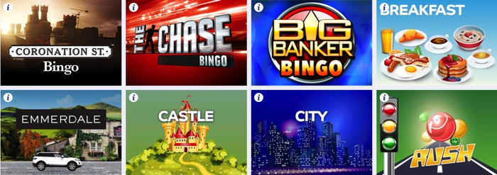 Bingo Games at Gala Bingo